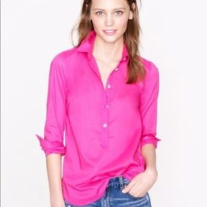J. Crew Indian voile popover